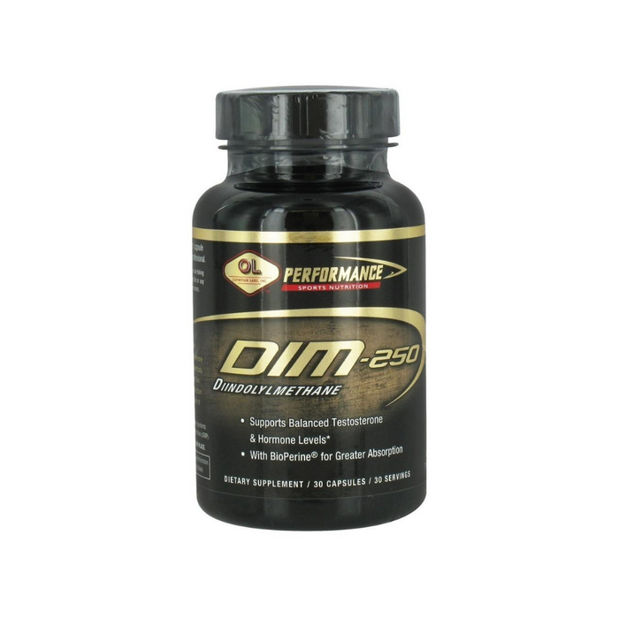 DIM 250mg 30 Capsules by Olympian Labs
