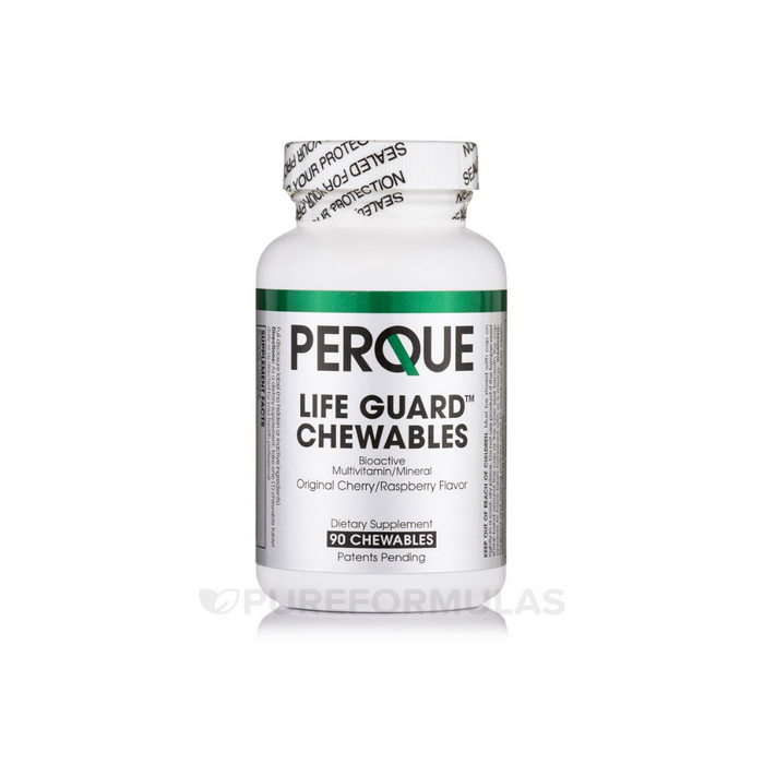 Life Guard Cherry Raspberry 90 chewables by Perque
