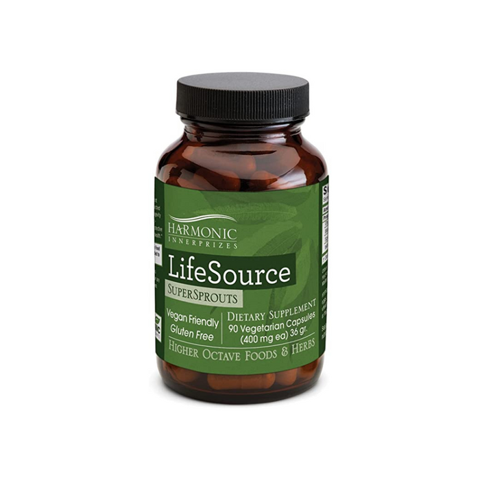 LifeSource SuperSprouts 90 Vegetarian Capsules by Harmonic Innerprizes