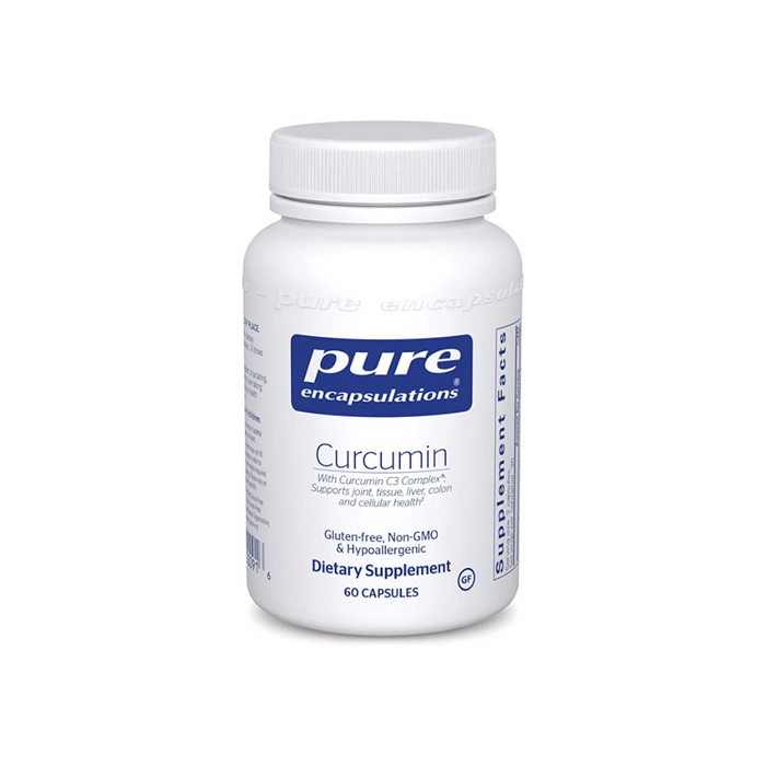 Curcumin 97 250 mg 60 vegetarian capsules by Pure Encapsulations