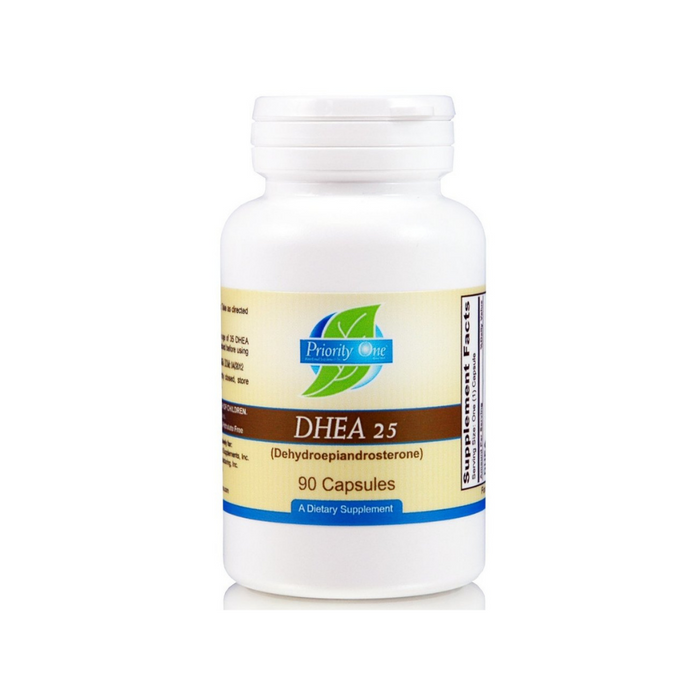 DHEA 25 mg 90 capsules by Priority One