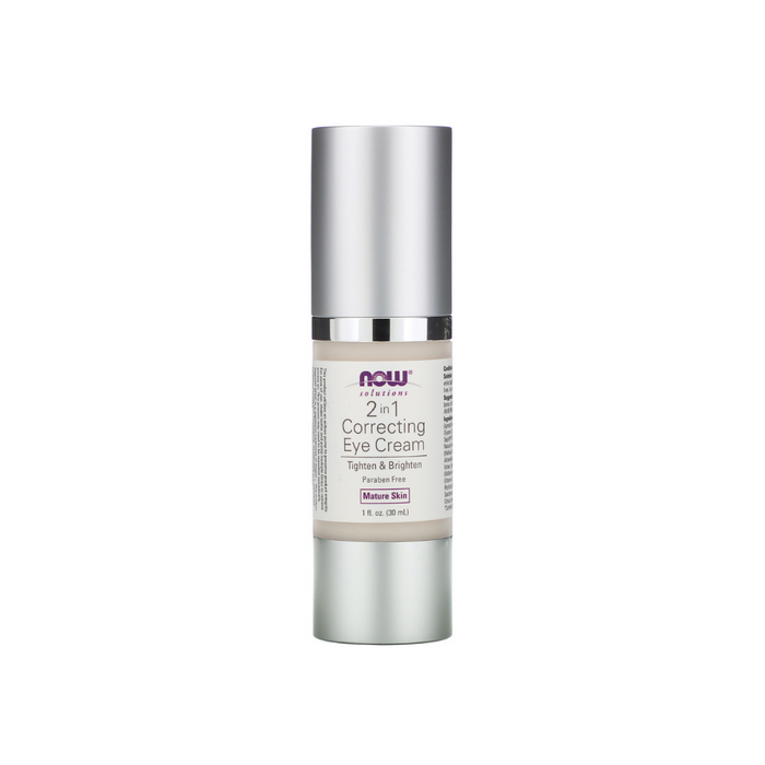 2 in 1 Correcting Eye Cream 1 fl oz by NOW Foods