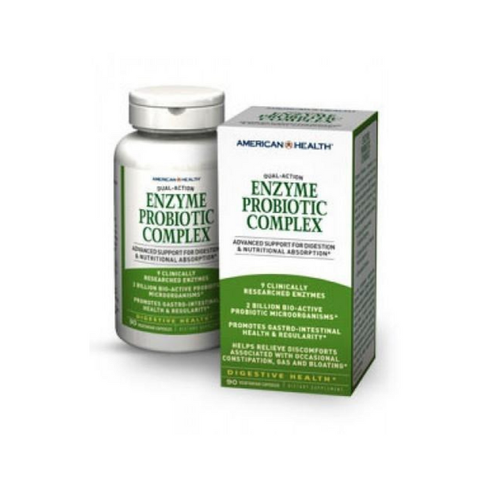 Enzyme Probiotic Complex 90vc by American Health