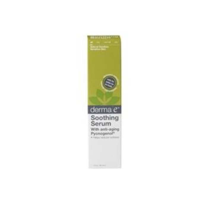 Soothing Redness Reducing Serum 2 Oz by DermaE Natural Bodycare