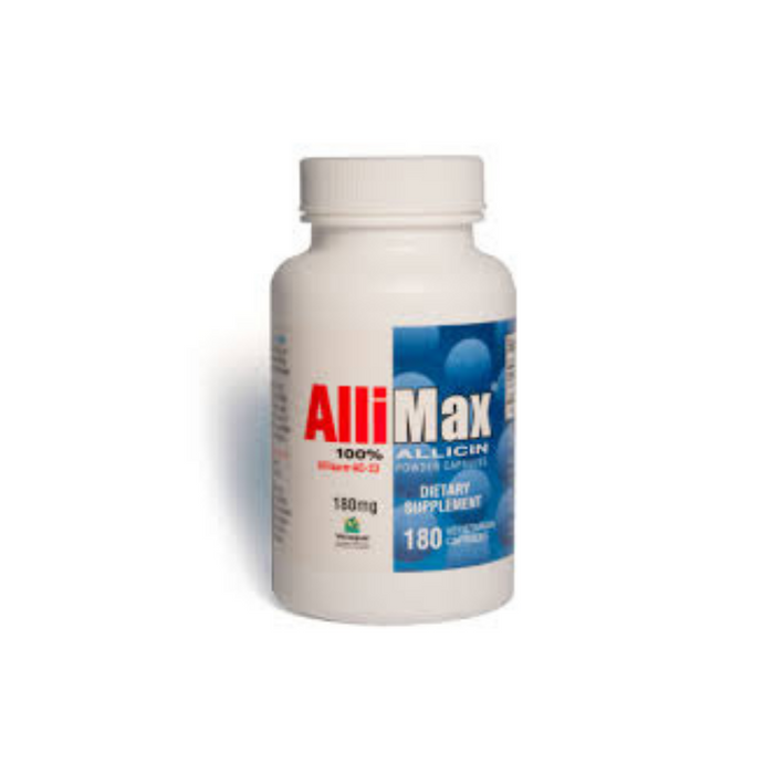 Allimax 180 vegetarian capsules by Allimax International