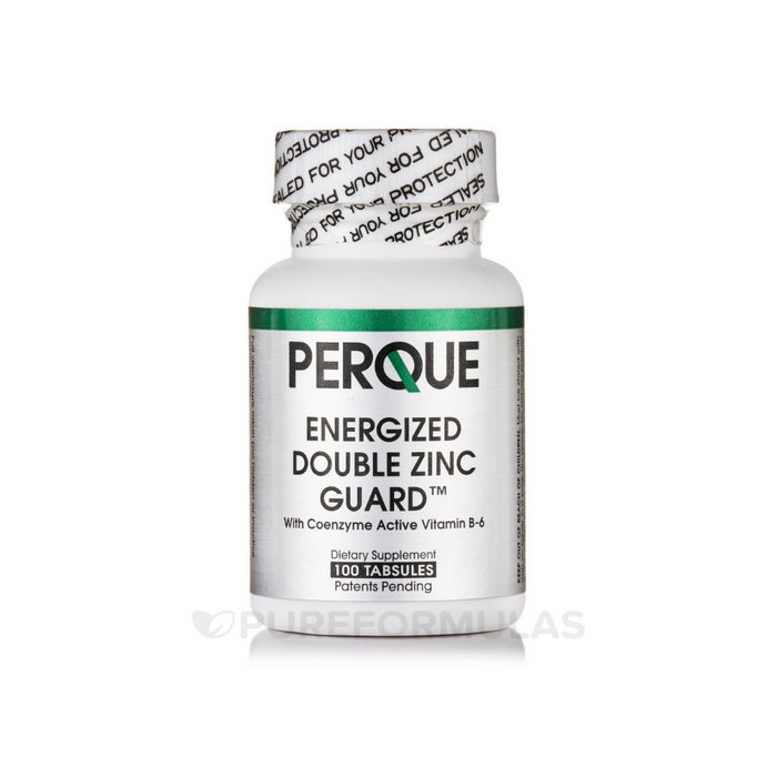 Energized Double Zinc Guard 100 tablets by Perque