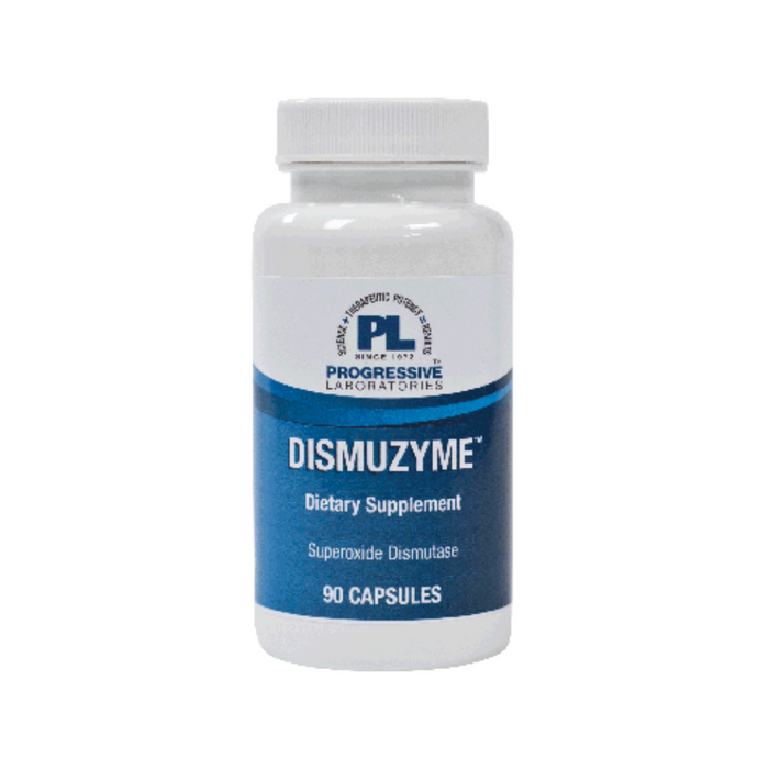 Dismuzyme 90 capsules by Progressive Labs