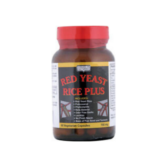 Red Yeast Rice 60ct by Only Natural
