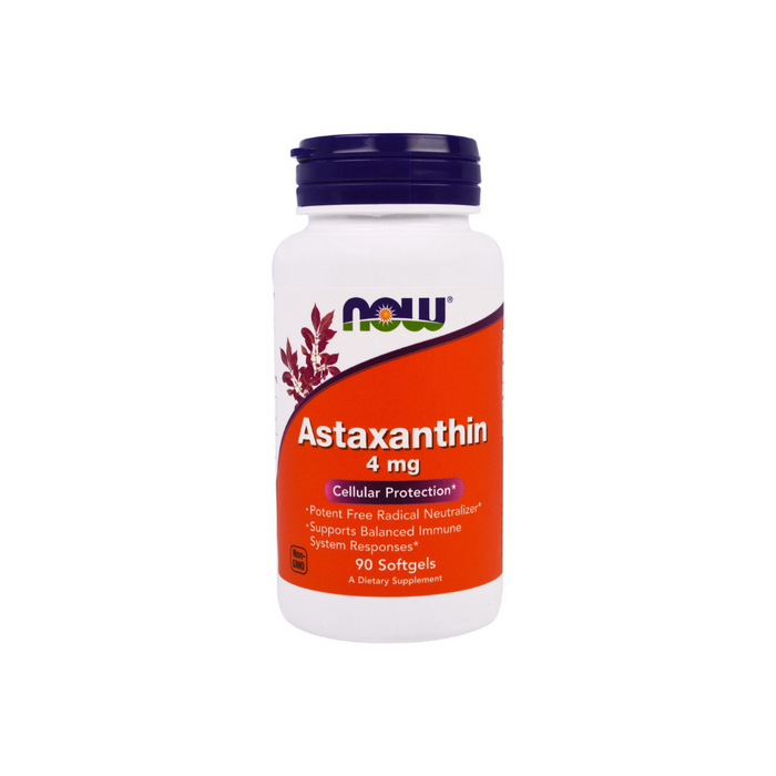 Astaxanthin 4mg 90 softgels by NOW Foods