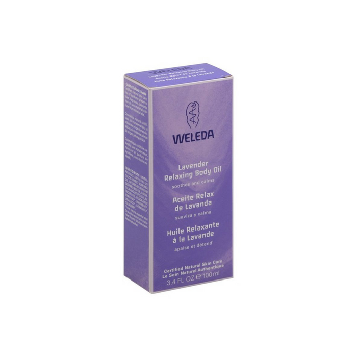 Lavender Body Oil Trial Size 0.34 oz by Weleda