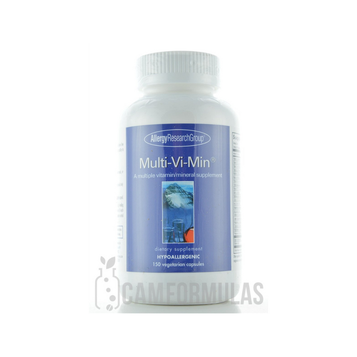 Multi-Vi-Min 150 vegetarian capsules by Allergy Research Group