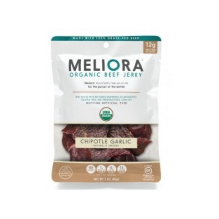 Meliora Chipotle Garlic 3oz by Golden Valley Jerky