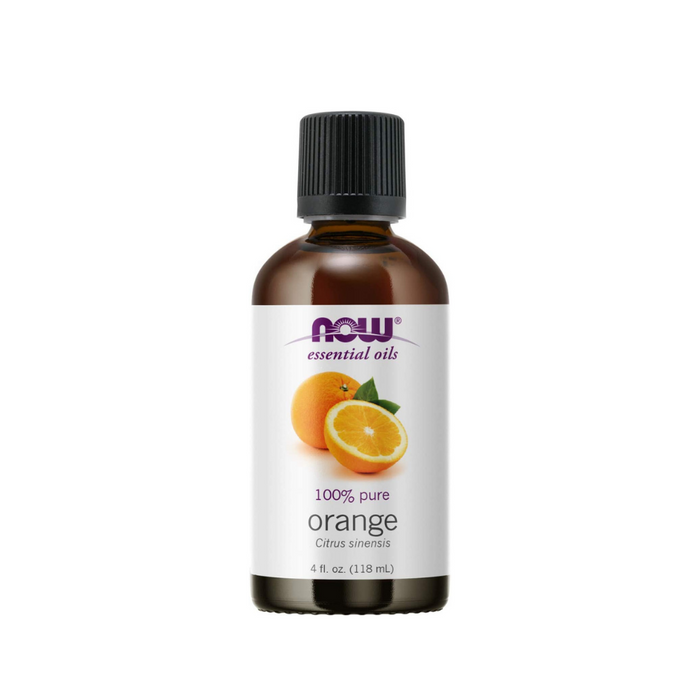 Orange Oil 4 oz. by NOW Foods