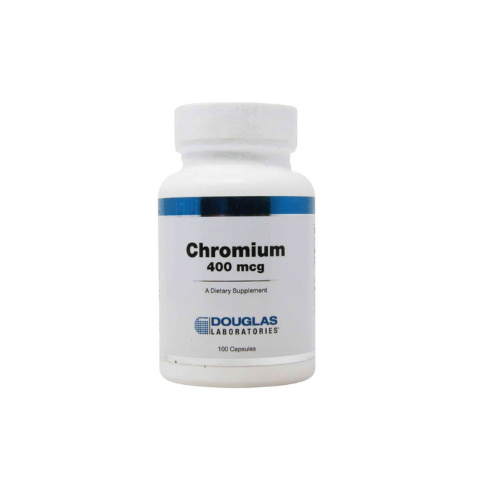 Chromium 400 mcg 100 capsules by Douglas Laboratories