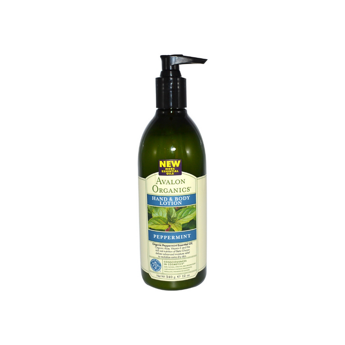 Lotion Peppermint 12 Oz by Avalon Organics