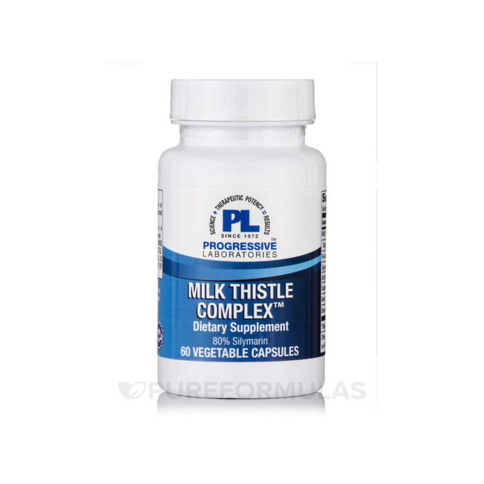 Milk Thistle Complex 60 vegetarian capsules by Progressive Labs