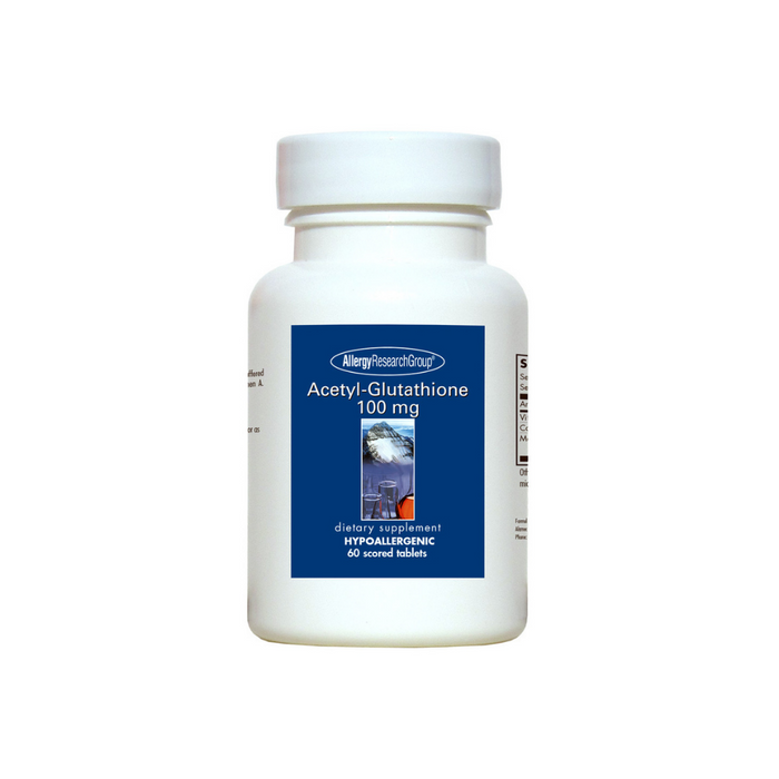 Acetyl-Glutathione 100 mg 60 tablets by Allergy Research Group