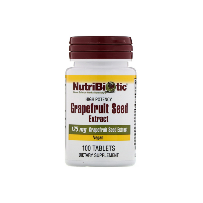Grapefruit Seed Extract 100 tablets by Nutribiotic