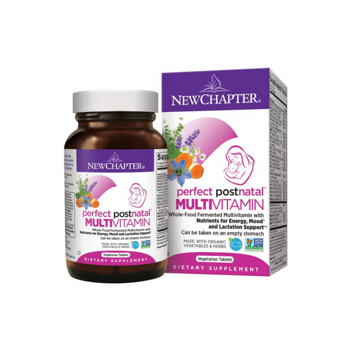 Perfect Postnatal 96 tablets by New Chapter