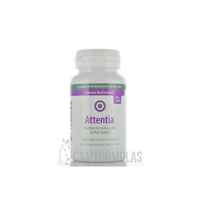Attentia 60 vegetarian capsules by D'Adamo Personalized Nutrition