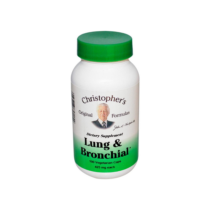 Heal Lung & Bronchial 100 Capsules by Christopher's Original Formulas