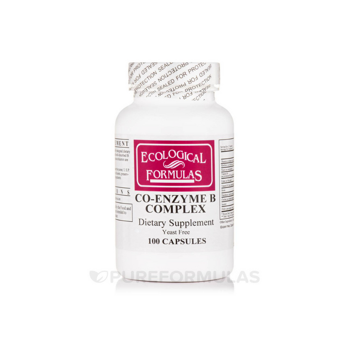 Co-Enzyme B Complex 100 capsules by Ecological Formulas