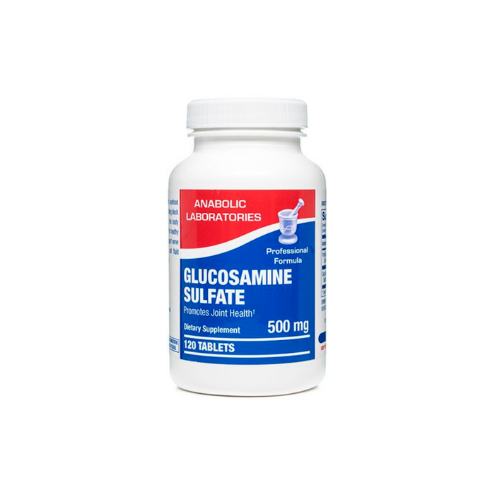 Glucosamine Sulfate 500 mg 120 tablets by Anabolic Laboratories