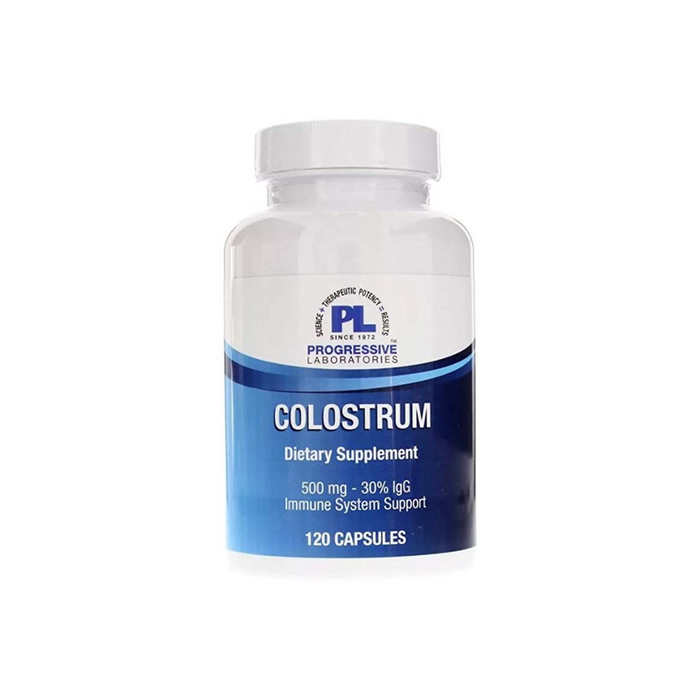 Colostrum 500 mg 120 capsules by Progressive Labs