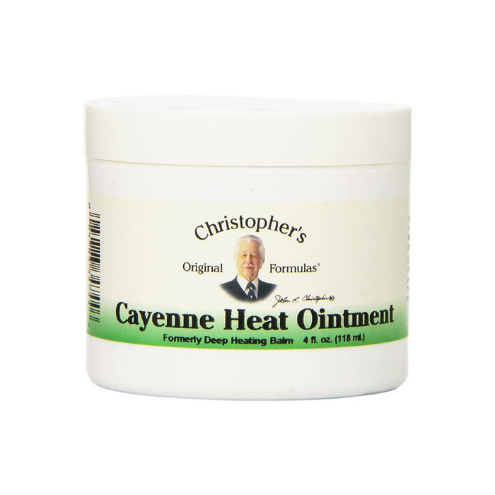 Ointment Cayenne Deep Heating Balm 2 oz by Christopher's Original Formulas