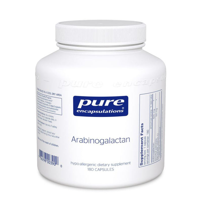Arabinogalactan 500 mg 180 vegetarian capsules by Pure Encapsulations