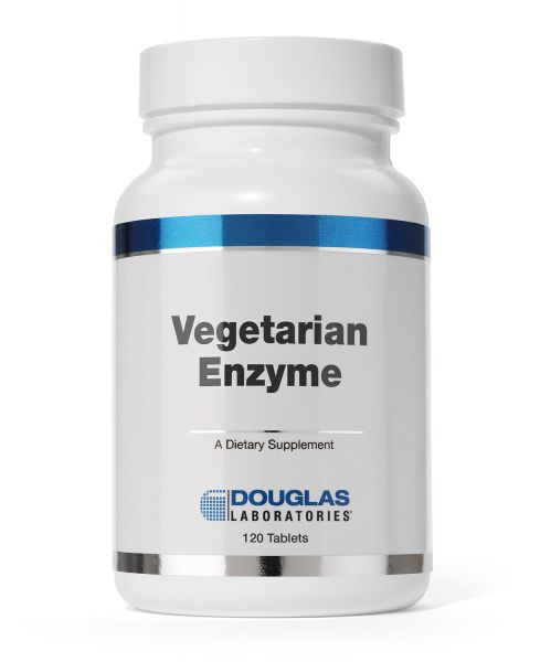 Vegetarian Enzyme 120 tablets by Douglas Laboratories
