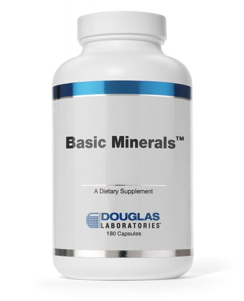 Basic Minerals 180 capsules by Douglas Laboratories