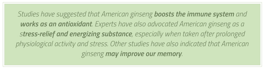 american ginseng benefits to brain quote