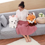 Load image into Gallery viewer, Maple & Snow the Foxes - Samo Gifts