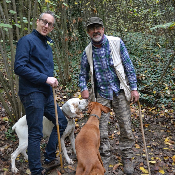 Truffle hunting with dogs in Italy!