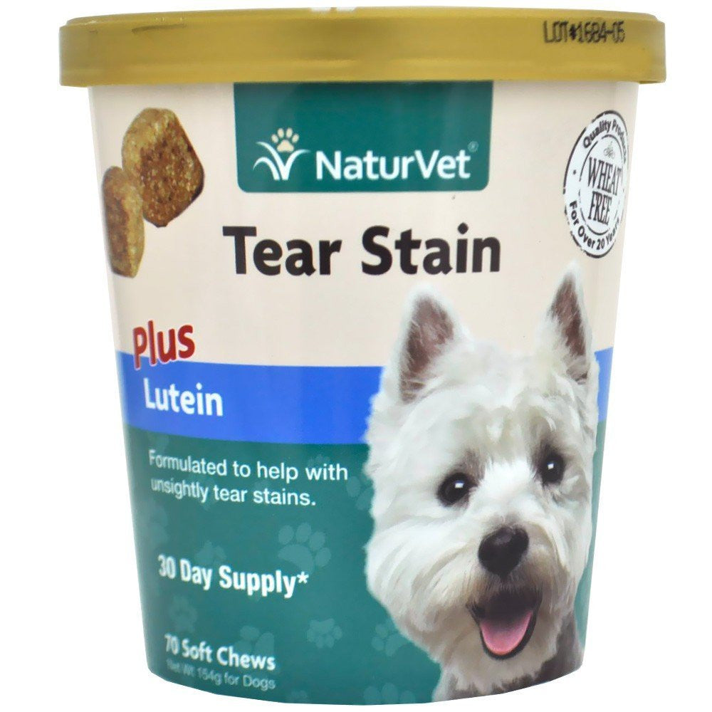 NaturVet No Tear Stain with Lutein Chews