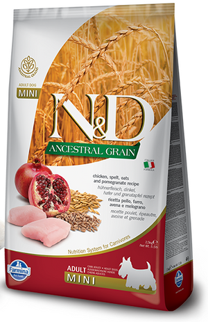 Farmina N&D Ancestral Grain Adult Dog Food