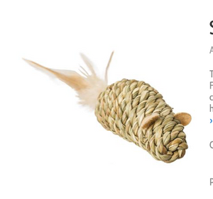 Seagrass Cat Toys