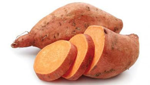 Yam Slices from the Fraser Valley, BC