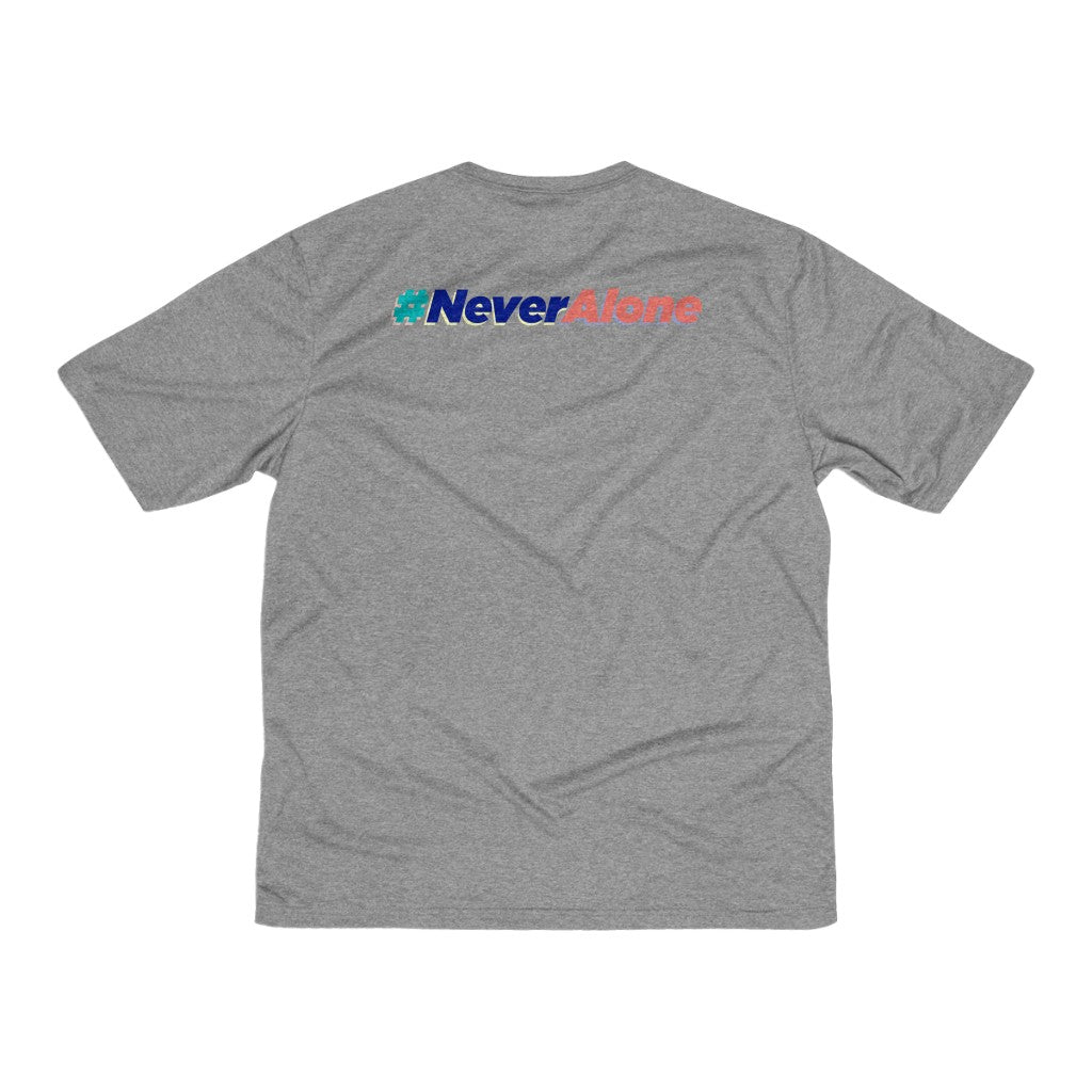 Men's Heather Dri-Fit Tee, Double Sided