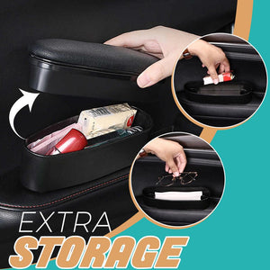 2-in-1 Car Door Armrest + Storage Box Car MadameFlora