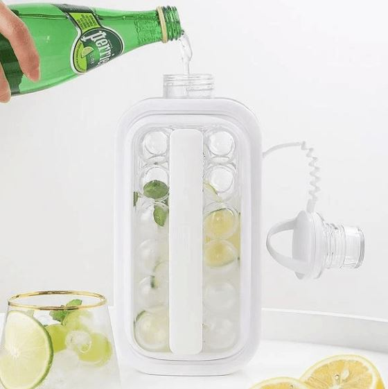 2 in 1 Ice Cube Kettle Kitchen BayfairConcept
