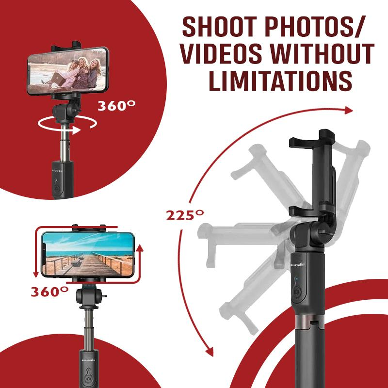 4 in 1 Mobile Phone Selfie Stick Gadgets DazzyCandy