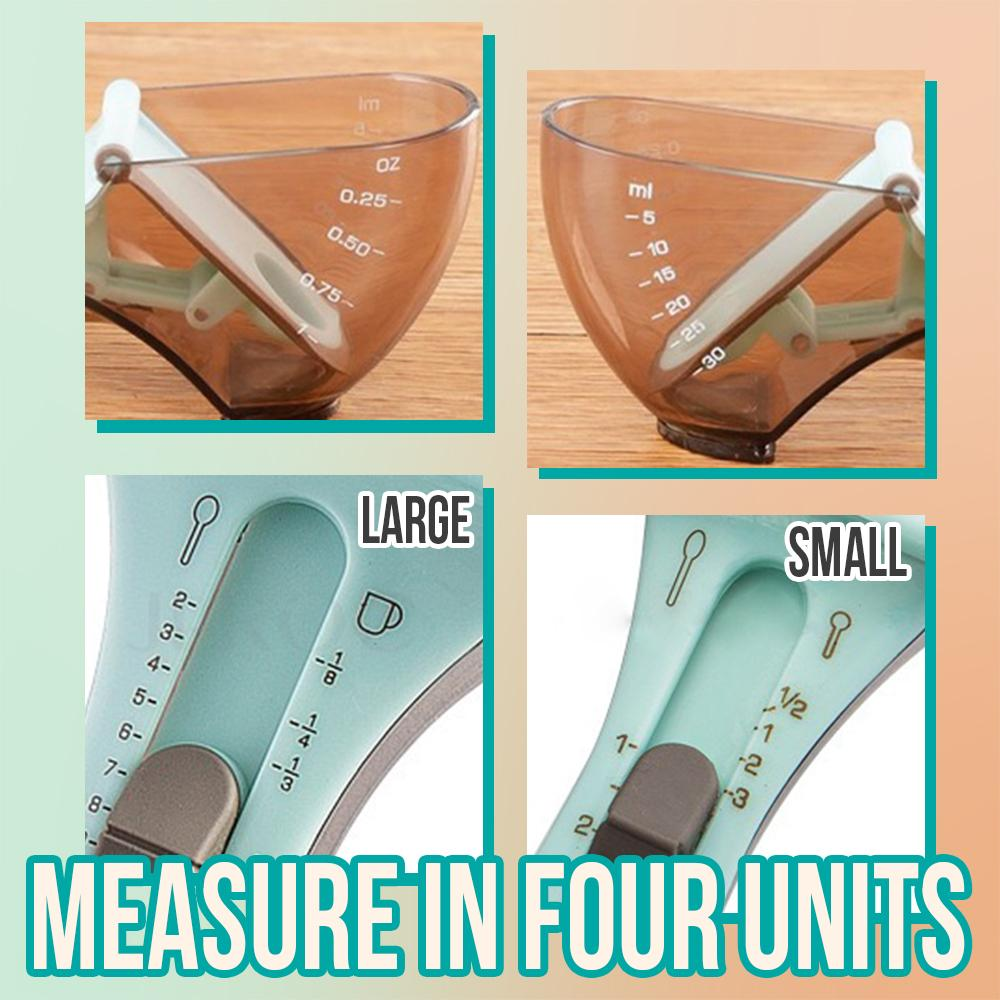 Adjustable Measuring Spoon Kitchen LuminousUnicorn