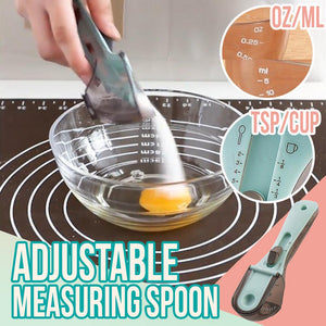 Adjustable Measuring Spoon Kitchen LuminousUnicorn Small