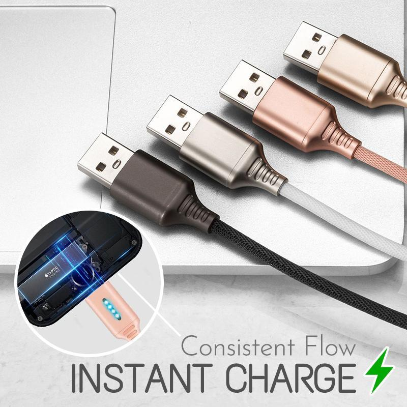 AutoSpeed Cut-off Charging Cable Gadgets starryhome