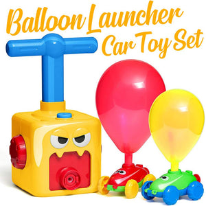 Balloon Launcher Car Toy Set Kids DazzlingBreeze