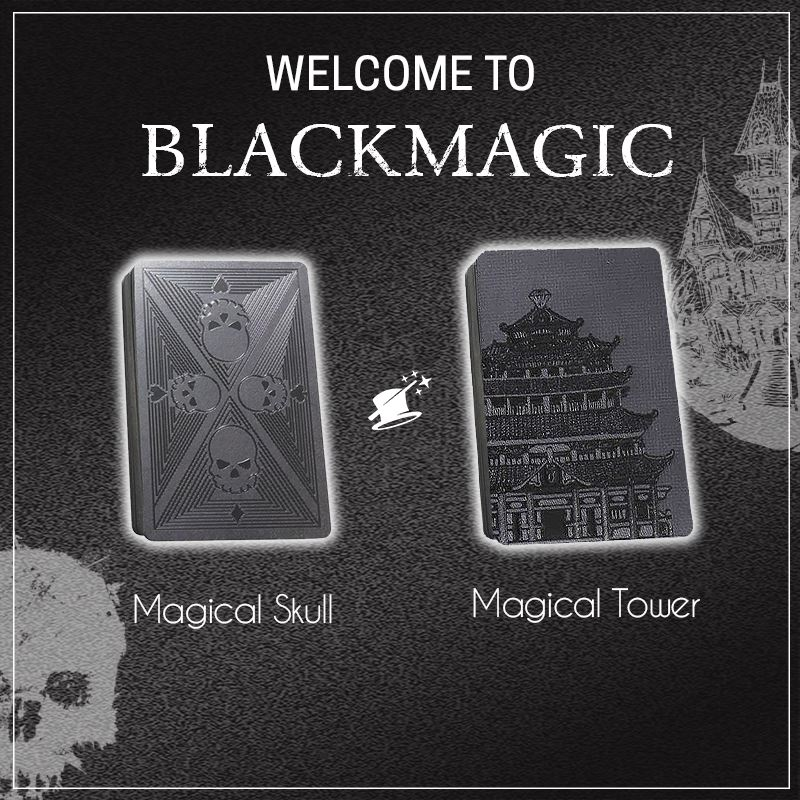BlackMagic™ Diamond Playing Cards starryhome