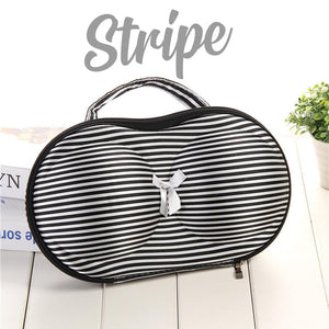 Bra & Panties Travel Organizer Intimate Wear DazzlingBreeze Stripe