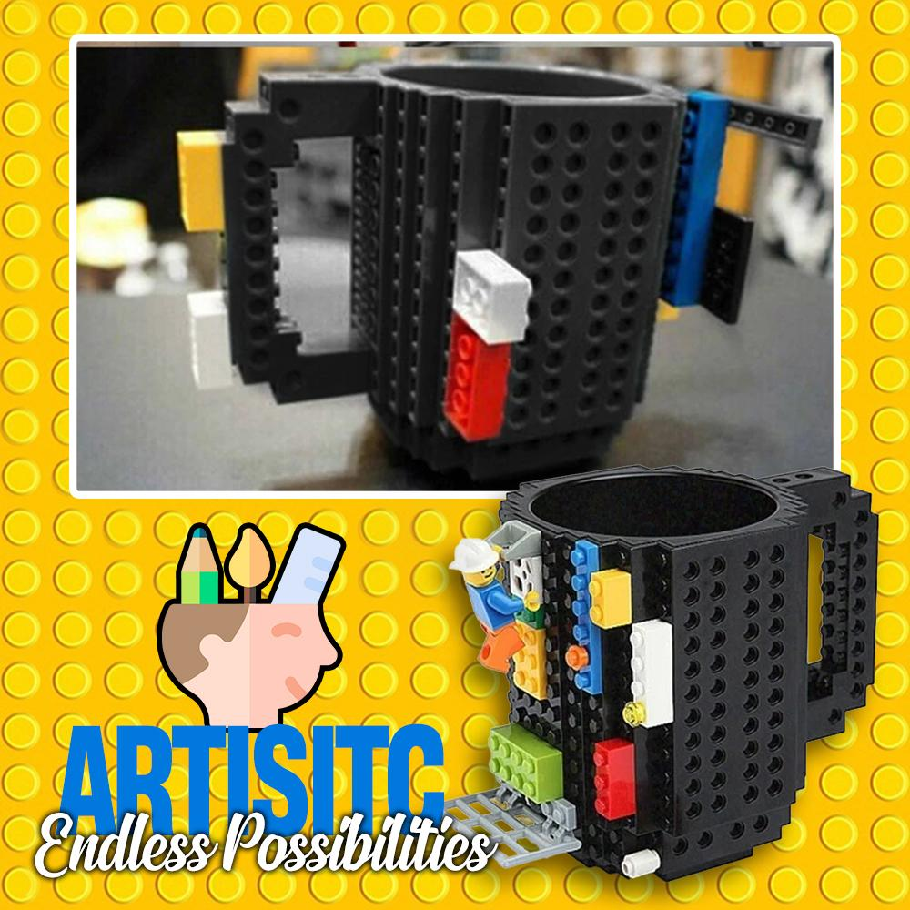 Building Block Mug Kids DazzlingBreeze